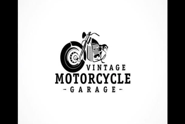 design retro logo or vintage stamp