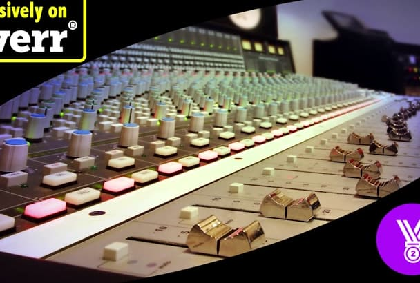 professionally mix and master your song to PERFECTION
