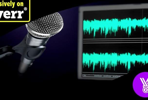 edit enhance denoise or encode your audio