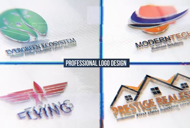 design 2D or 3D logo with unlimited revision