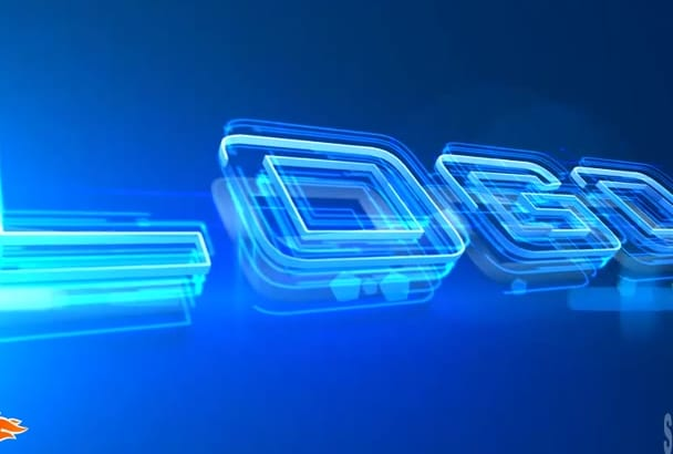 do Elegant Logo Intro Animation in Full HD