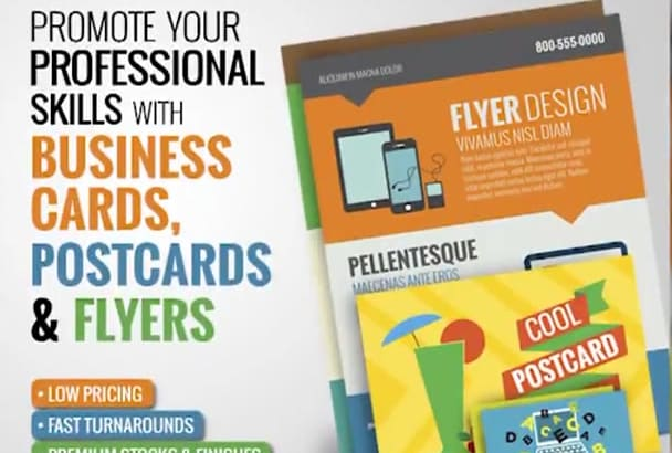 professionally print your business cards in full color