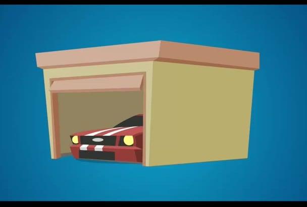 create white board explainer animation video