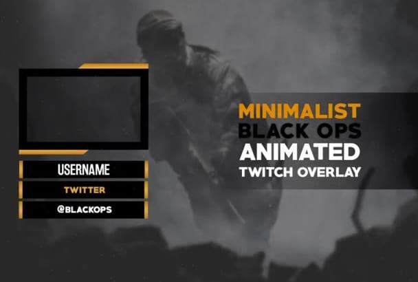 design your twitch stream animated overlay