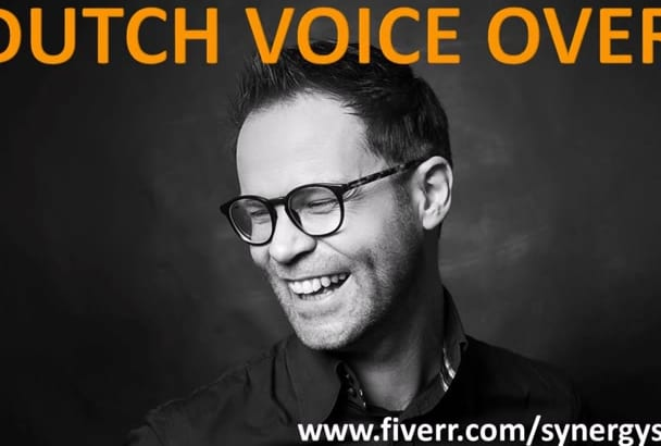 be your male Dutch voice over