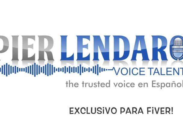 grabar Voz en Español e Ingles