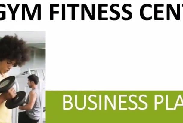 supply a Fitness Center Gym Business Plan