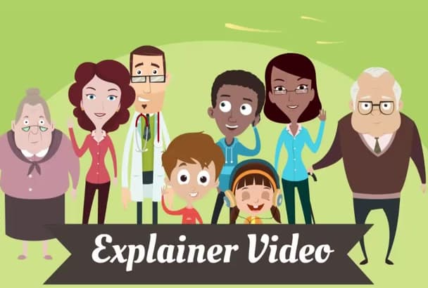 make Stunning animated  video of your product