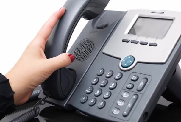 record english male phone system and IVR voice message