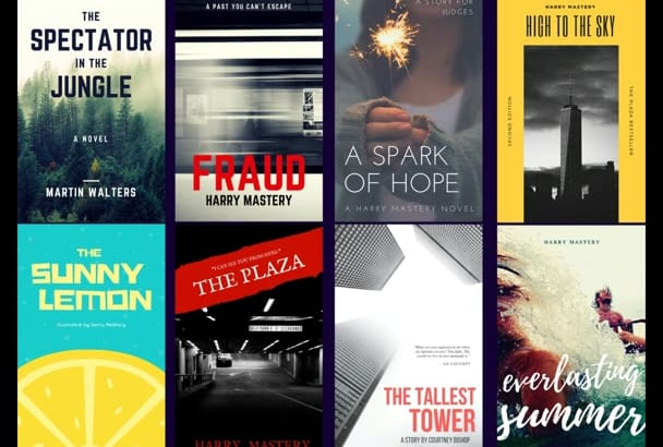 make best ebook covers or kindle within 4 hours