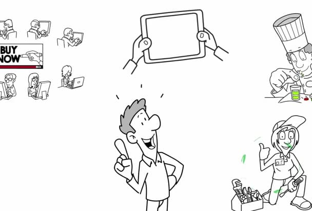 create a SUPERB  Whiteboard Animation