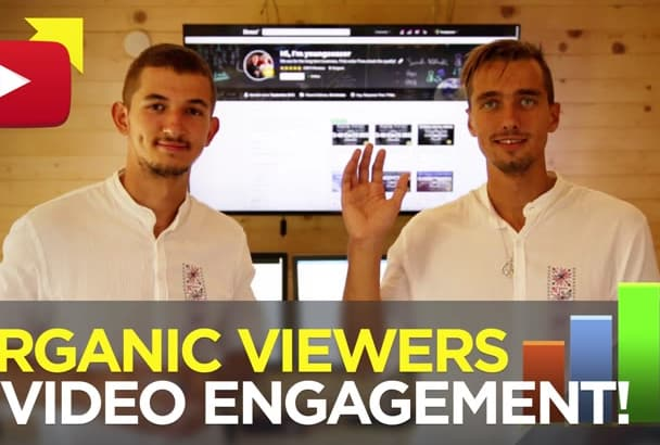 traffic boost YouTube Video, organic Social Media promotion