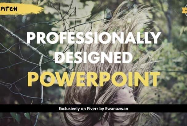 design best, award winning PowerPoint OVERNIGHT