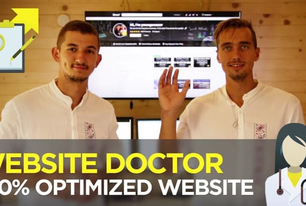 be your SEO Doctor, help you fix All Website Issues