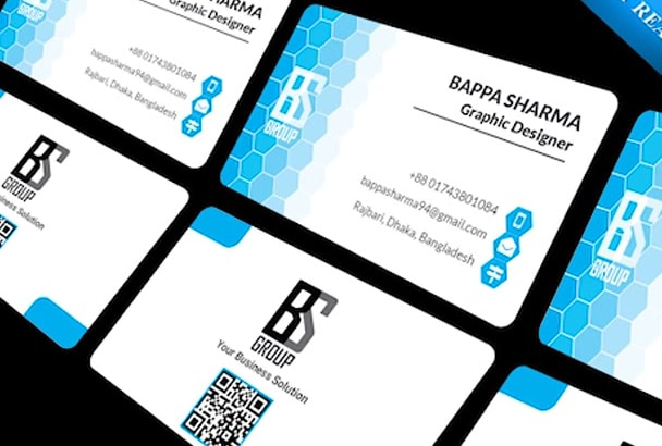 Design professional two sided business card id card by bappasharma94 design professional two sided business card id card reheart Choice Image