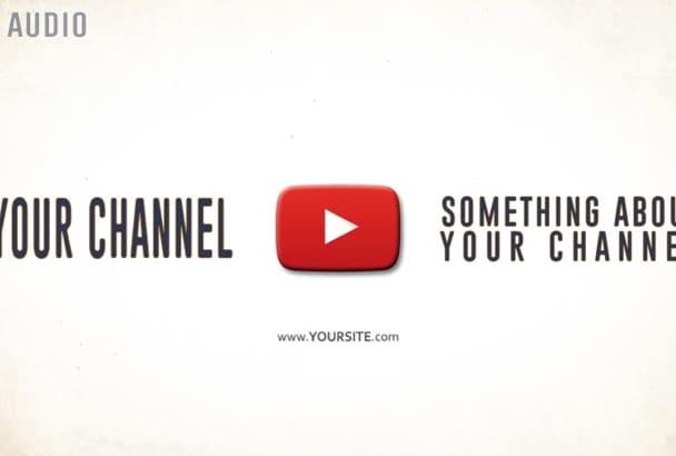 make Short YouTube Intro