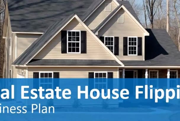 Real Estate House Flipping Business Plan Template