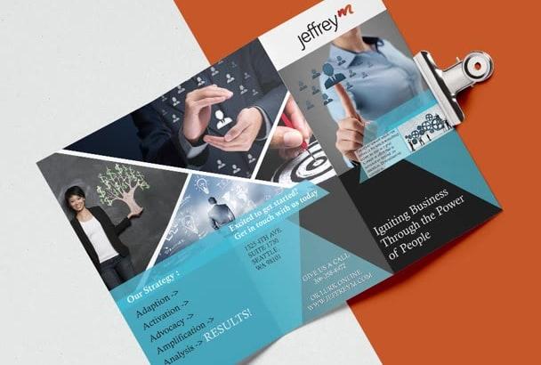do an amazing brochure design by emerchant