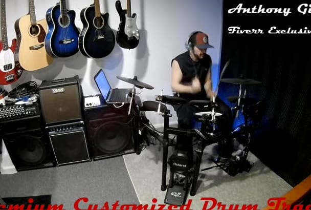 provide an amazing studio quality drum track for your song