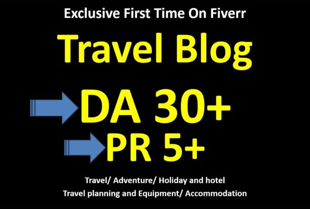 do guest post on da30 travel blog