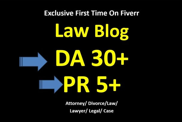 submit guest post on da30 law blog