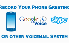 Record a professional voicemail greeting by irishguy1 i will record your voicemail greeting to your phone or google voice m4hsunfo