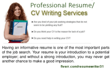 i will write rewrite a perfect resume cv cover letter linkedin resume writer