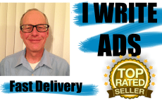 write your ad or content by pro writer