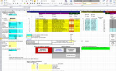 create an excel spreadsheet with formula or macro