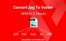 Raster Vector Conversion Services - Logo Vector & Images   Fiverr