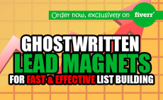 ghostwrite a captivating lead magnet ideal for list building