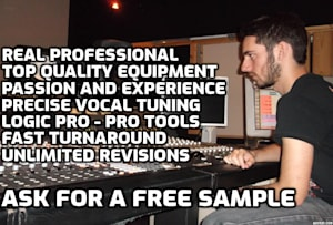 Freelance Audio Mastering & Mixing Engineer Services   Fiverr