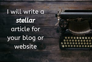 Article & Blog Writing Services - Freelance Blog Writers for