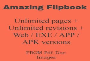 Fiverr / Search Results for 'create flipbook'