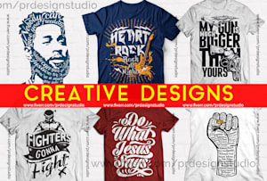 Custom T Shirts - Freelance T Shirt Designer Specialists | Fiverr