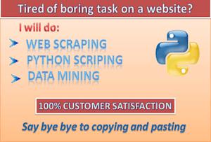Data Analysis & Reports - Data Mining/Scraping | Fiverr