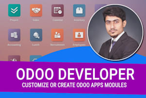 Fiverr / Search Results for 'odoo app'