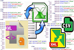 I will convert any file to excel and csv format