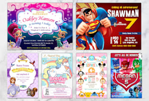Invitations Design - Create Wedding & Other Events