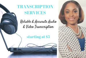 Transcribers for Hire Online | Fiverr