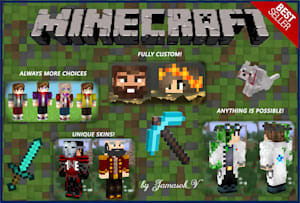 Fiverr / Search Results for 'make minecraft skin'