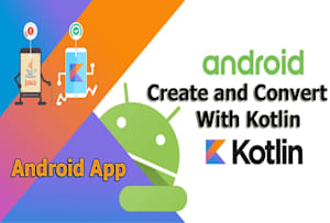 Fiverr / Search Results for 'convert to kotlin'