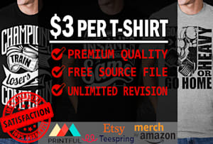 Custom T Shirts - Freelance T Shirt Designer Specialists | Fiverr