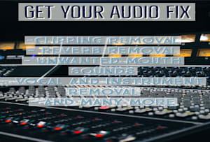 Freelance Audio Services Online | Fiverr