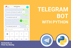 Fiverr / Search Results for 'telegram forward bot'