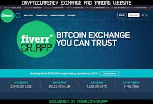 Fiverr / Search Results for 'crypto exchanger'