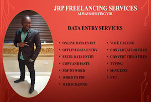 Data Entry Services - Outsource Your Work | Fiverr