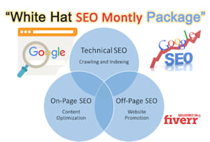 On Page SEO Optimization Services | Fiverr