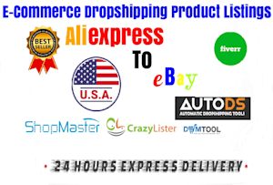 Amazon and Ebay Product Listing Services | Fiverr