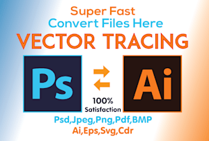Raster Vector Conversion Services - Logo Vector & Images